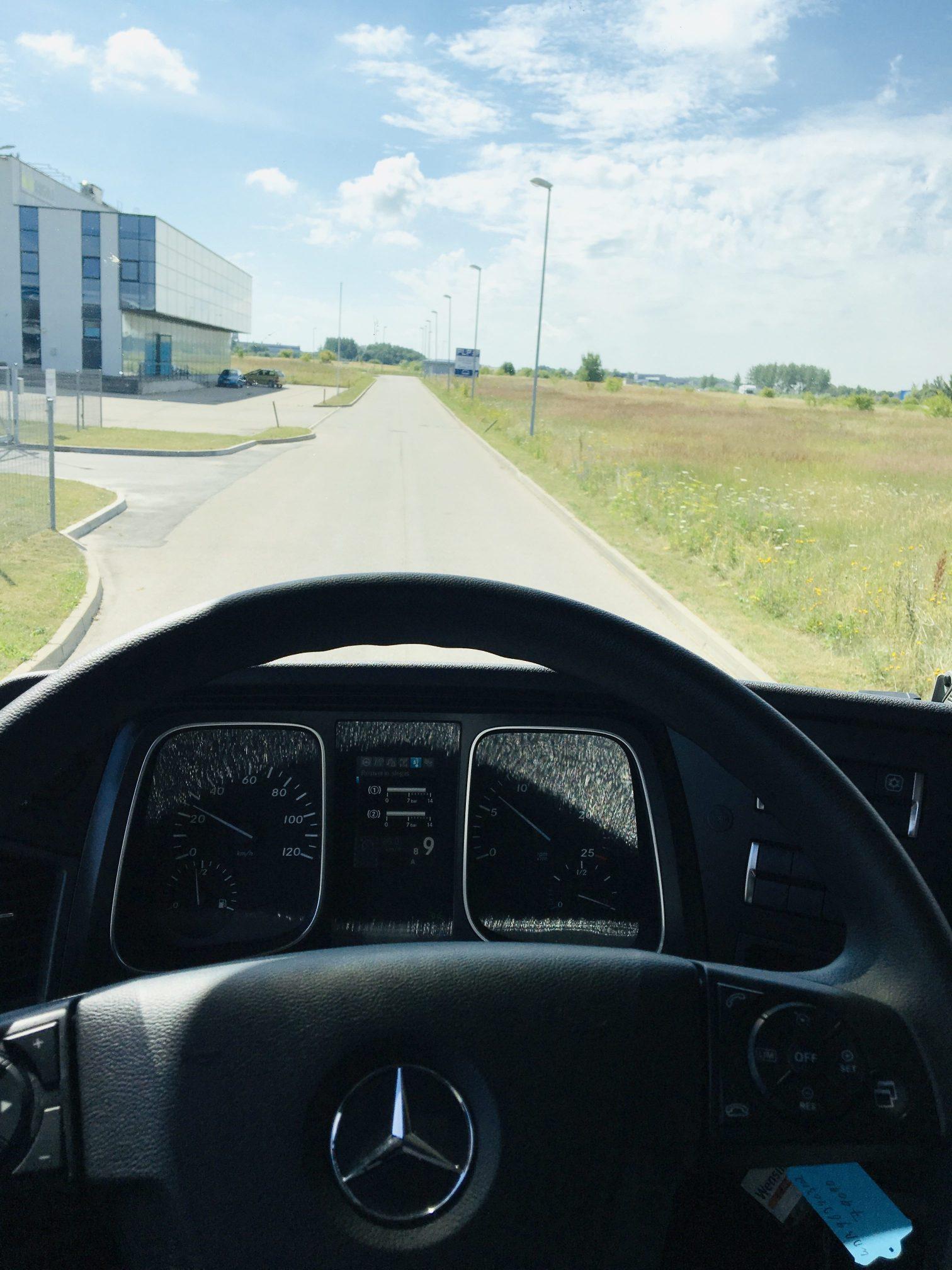 Darbas tolimųjų reisų vairuotojams